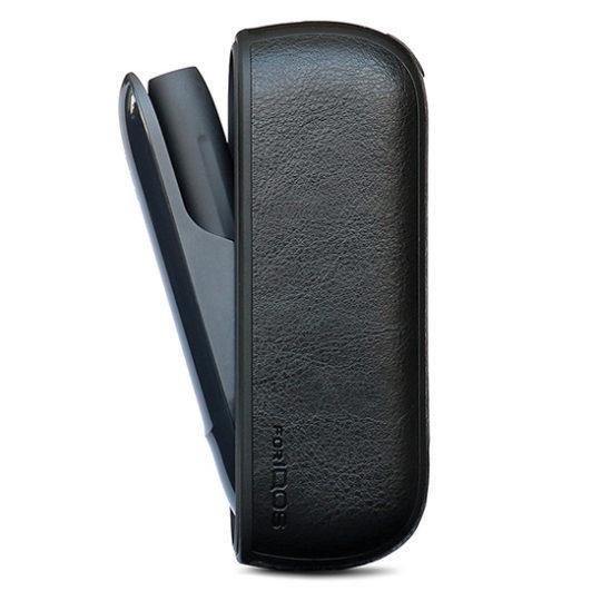 Pouzdro iqos 3.0 leather - černá