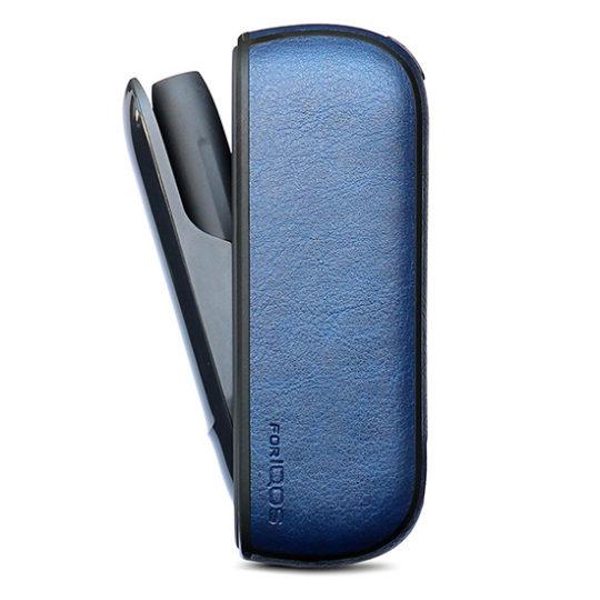 Pouzdro iqos 3.0 leather - tmavě modrá