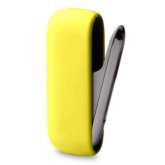 pouzdro iqos 3.0 silicon žlutá